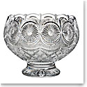 "Waterford Crystal, House of Waterford Billy Briggs Tramore Footed 12"" Crystal Centerpiece, Limited Edition of"