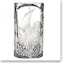 "Waterford Crystal, House of Waterford Strongbow and the Battle of Waterford Crystal, 12"" Crystal Vase, Limited"