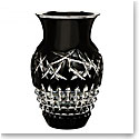 "Waterford Jeff Leatham Fleurology Cleo 12"" Urn Vase, Black"