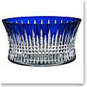 "Waterford Crystal, Lismore Diamond Cobalt 10"" Crystal Bowl"