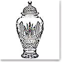 "Waterford Crystal, House of Waterford With Love From Ireland 10"" Tall Urn"