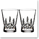 Waterford Crystal, Lismore Pops DOF Tumblers, Pair