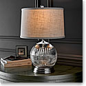 "Waterford Crystal, Lismore Diamond 21"" Table Lamp"