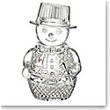Waterford Crystal Snowman Sculpture