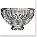 "Waterford Crystal, House of Waterford Rock of Cashel 10"" Footed Crystal Bowl"