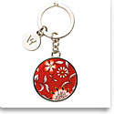 Wedgwood Wonderlust Key Ring, Crimson Jewel