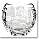 Waterford Crystal, House of Waterford America the Beautiful Chicago Crystal Bowl