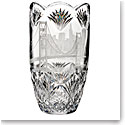 "Waterford Crystal, House of Waterford America the Beautiful San Francisco 14"" Crystal Vase"