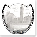 Waterford Crystal, House of Waterford America the Beautiful New York Crystal Bowl