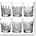 Waterford Crystal, Lismore Connoisseur Heritage Crystal DOF Tumbler, Set of Six