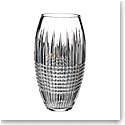 "Waterford Crystal, Lismore Diamond Encore 12"" Crystal Vase"