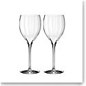 Waterford Crystal, Elegance Optic Sauvignon Blanc, Pair