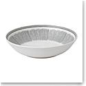 "Ed Ellen Degeneres Royal Doulton Charcoal Grey Lines Pasta Bowl 9.4"""