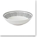 "Ed Ellen Degeneres Royal Doulton Charcoal Grey Lines Serving Bowl 11.4"""