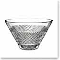 "Waterford Crystal, Diamond Line 10"" Crystal Bowl"