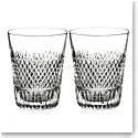 Waterford Diamond Line Shot Glass, Pair