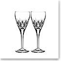 Waterford Crystal, Ardan Enis Crystal Wine Goblet, Pair