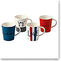 Royal Doulton Ellen DeGeneres Joy Mixed Mug Set of 4