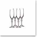 Marquis by Waterford Crystal, Ventura Crystal Flute, Set of 4