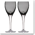 Waterford Crystal, W Shale Crystal Wine Goblets, Pair