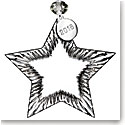 Waterford Crystal 2018 Blank Star Ornament