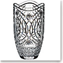 "Waterford Crystal, House of Waterford Waves of Tramore 14"" Crystal Vase"
