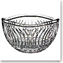 "Waterford Crystal, House of Waterford Waves of Tramore 10"" Crystal Bowl"