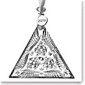 Waterford Crystal 2019 Times Square Triangle Ornament