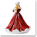 Royal Doulton 2018 Christmas Surprise Pretty Woman Figurine