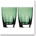 Waterford Crystal, W Fern DOF Tumblers, Pair