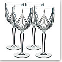 Marquis by Waterford Lacey Crystal Goblet, Set of Four