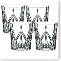 Marquis by Waterford Lacey Crystal DOF Set of Four