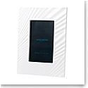 "Wedgwood China White Folia 4x6"" Picture Frame"