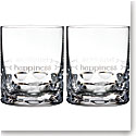 Waterford Crystal, Ogham Happiness Crystal DOF Tumblers, Pair