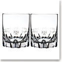 Waterford Crystal, Ogham Joy Crystal DOF Tumblers, Pair