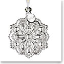 Waterford 2019 Silver Snowflake Ornament