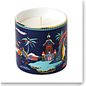 Wedgwood China Wonderlust Blue Pagoda Candle, Lotus and White Jasmine