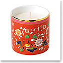 Wedgwood China Wonderlust Crimson Jewel Candle, Red Berry and Apple