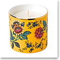 Wedgwood China Wonderlust Yellow Tonquin Candle, Lemongrass and Basil