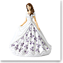 Royal Doulton Pretty Ladies Birthstone Petites February Amethyst