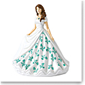 Royal Doulton Pretty Ladies Birthstone Petites May, Emerald