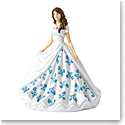 Royal Doulton Pretty Ladies Birthstone Petites September, Sapphire