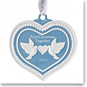 Wedgwood 2018 Our First Christmas Ornament
