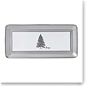 Wedgwood 2018 Winter White Christmas Sandwich Tray Rectangular