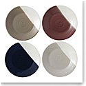 """Royal Doulton Coffee Studio Plate 6.3"""" Set of 4 Mixed Colors"""