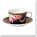 Wedgwood China Hummingbird Teacup and Saucer Set