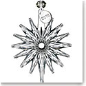 Waterford Crystal 2018 Annual Snow Crystal Pierced Ornament