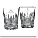 Waterford Crystal, 2017 MLB World Series Houston Astros Lismore Diamond Crystal DOF Tumbler, Pair