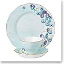 Royal Albert Alpha Foodie 3-Piece Set, Teacup, Saucer & Plate Turquoise
