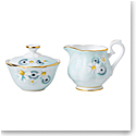 Royal Albert Alpha Foodie Mini Creamer and Sugar Set Turquoise